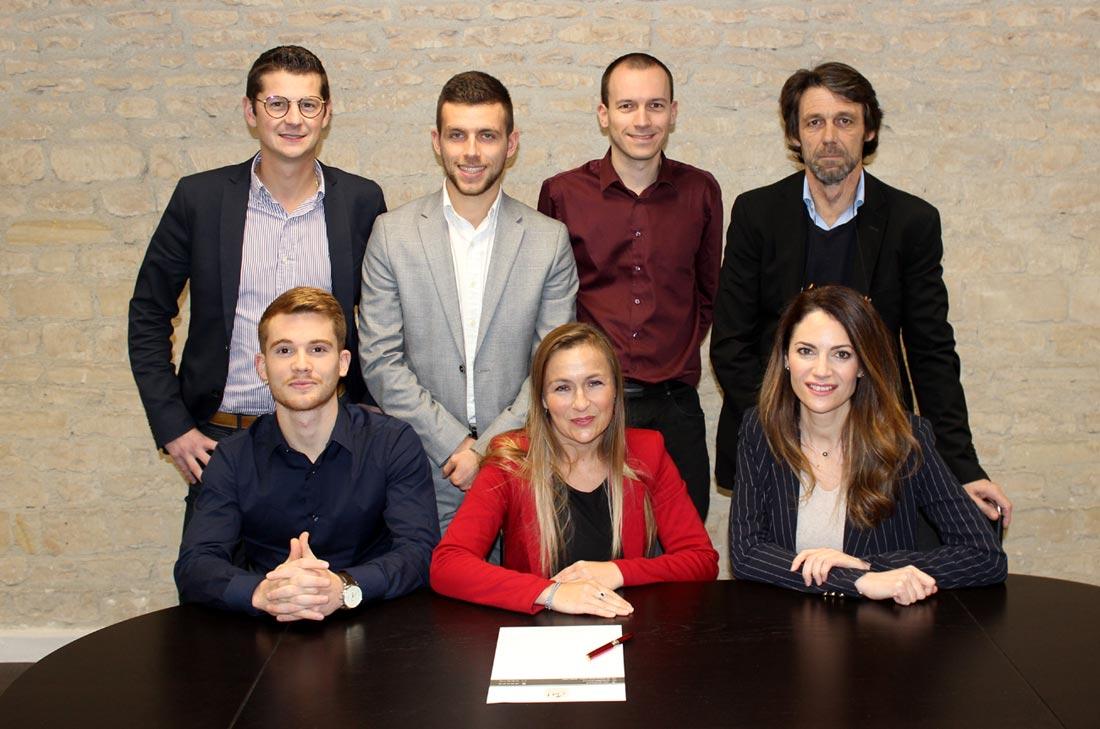 Toute l'équipe d'ABM FINANCE à Caen